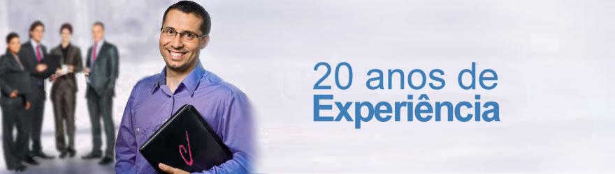 20 anos de experiência